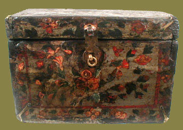 Antique Tibetan Painted Box