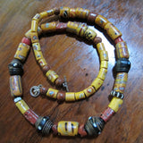 Antique Venetian African Trade Bead Necklace