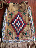 Old Apache Fringed Bag