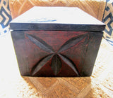 Vintage BaKuba Carved Box