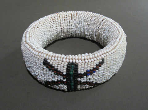 Vintage N'debele Beaded Bracelet from South Africa