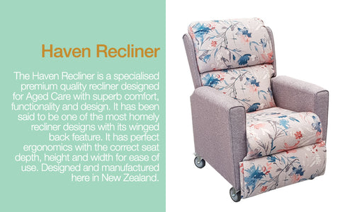 Haven Recliner for aged care