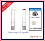 Double Door Package 8 -  Super Antenna + 1000 Medium Tag + 1 Universal Detacher