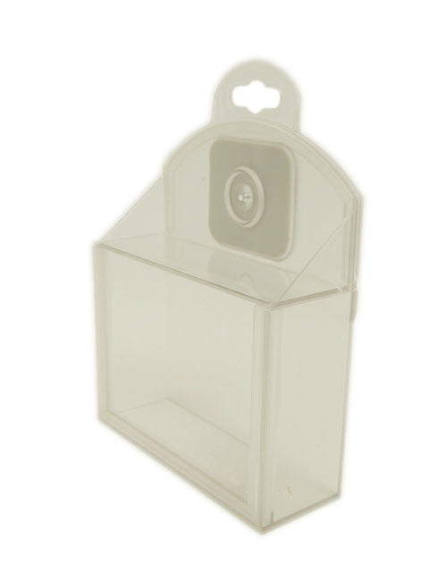 """RF EAS"" Clear Security Box Display 7.5 x 6.3 x 1"" Anti-Theft Security Safer - 20 Pcs."