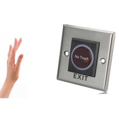 "Infrared ""No Touch"" - Access Control Exit Switch"