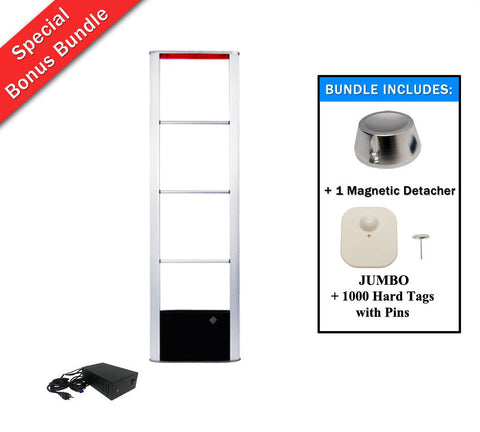 Package T -  MONO Single-Tower Security System + 1000 JUMBO Tag + 1 Universal Detacher