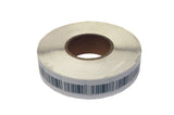 Large Self-adhesive Security 50mm x 50mm Barcode Style Soft Labels 8.2 MHz RF Frequency - Case of 20,000