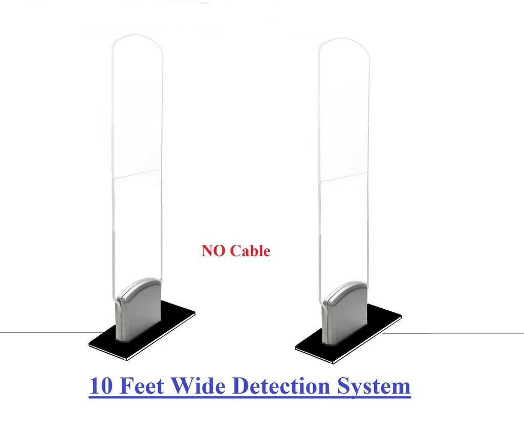 US Name Brand EAS RF 8.2 MHz Acrylic Security Antenna System - Wide Detection