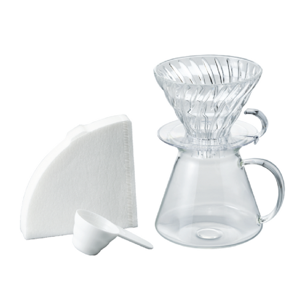 SIMPLY HARIO V60 GLASS BREW KIT