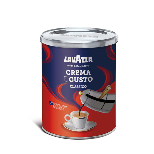 TIN CREMA E GUSTO GROUND COFFEE 250G