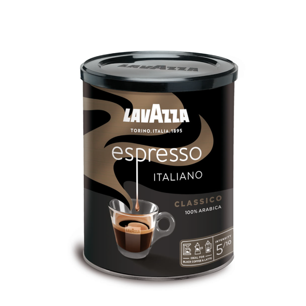 TIN CAFFE ESPRESSO ITALIANO CLASSICO GROUND COFFEE 250G