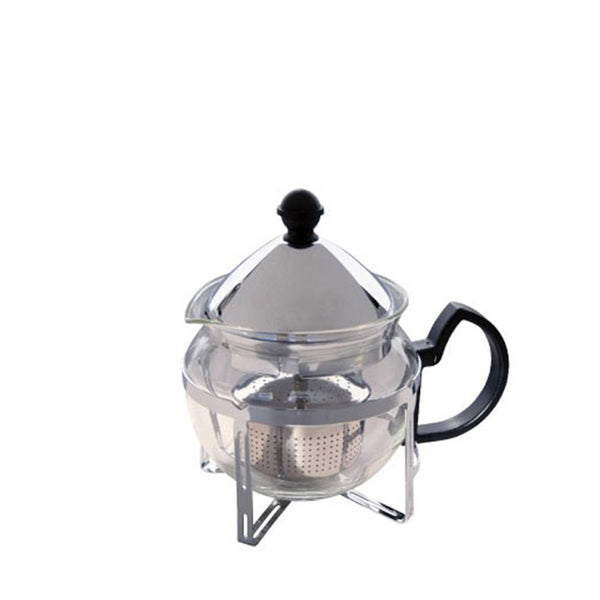 GLASS TEAPOT W/FILTER 600ML