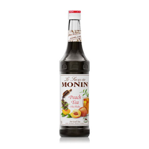 MONIN  CONCENTRATE PEACH NAT TEA 700ML