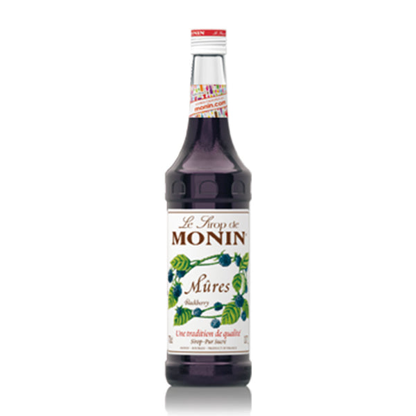MONIN  PREMIUM SYRUP BLACKBERRY 700ML