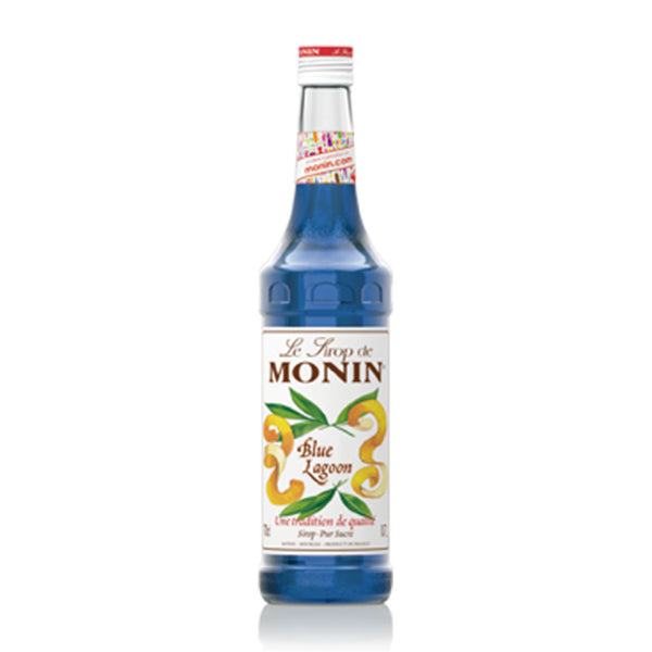 MONIN  PREMIUM SYRUP BLUE LAGOON 700ML