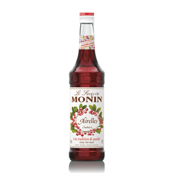 MONIN  PREMIUM SYRUP CRANBERRY 700ML