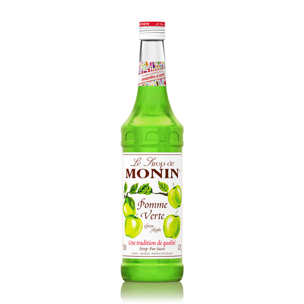 MONIN  PREMIUM SYRUP GREEN APPLE 700ML