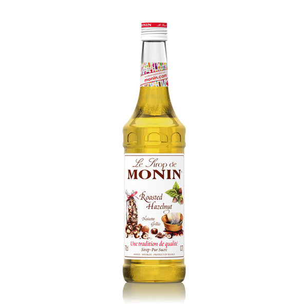 MONIN  PREMIUM SYRUP ROASTED HAZELNUT 700ML