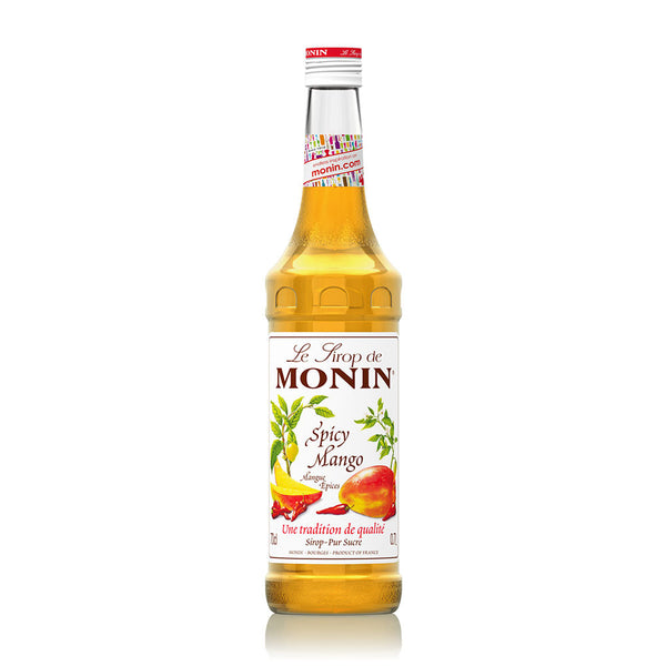 MONIN  PREMIUM SYRUP SPICY MANGO 700ML