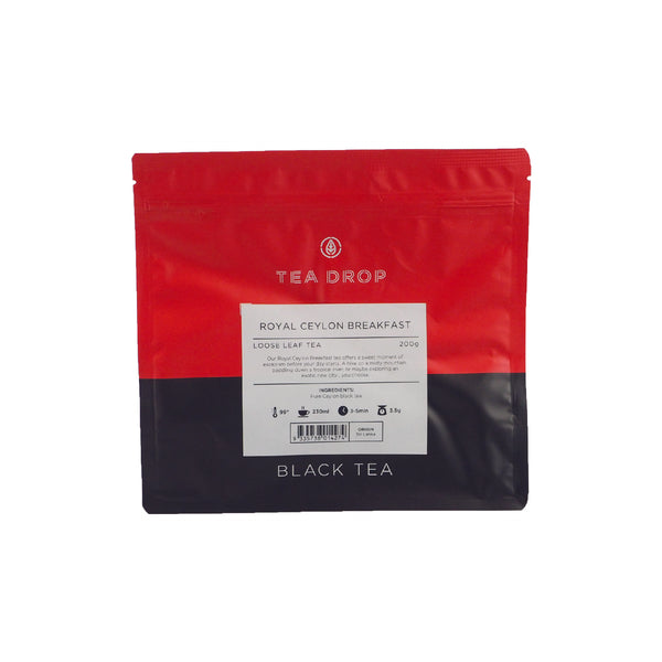 LOOSE TEA - ROYAL CEYLON BREAKFAST TEA 200G
