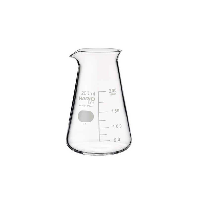 LAB CONICAL BEAKER 200ML