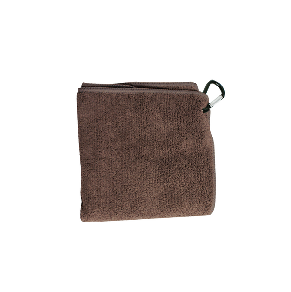 BARISTA CLOTH WITH CLIP (BROWN)
