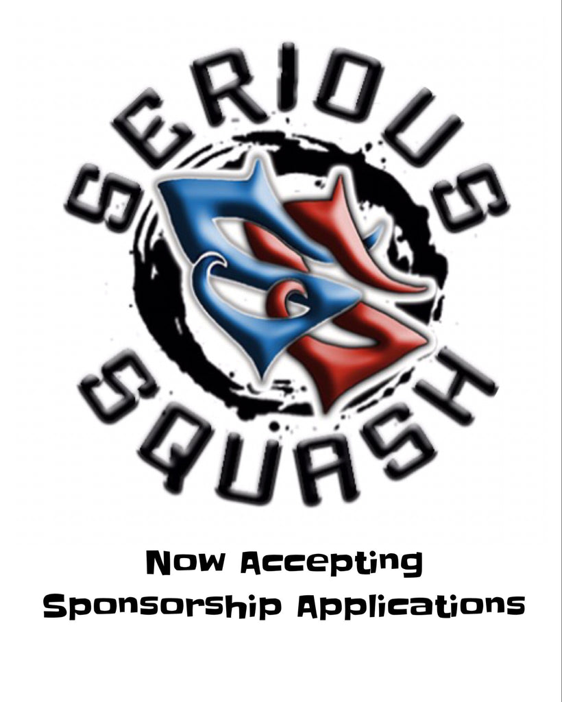 Serious Squash Is Now Accepting Sponsorship Applications