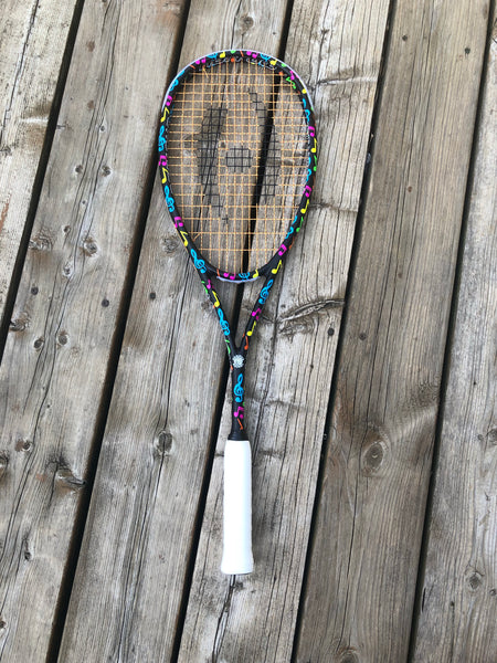 Limited Edition Serious Squash Harrow Racquet