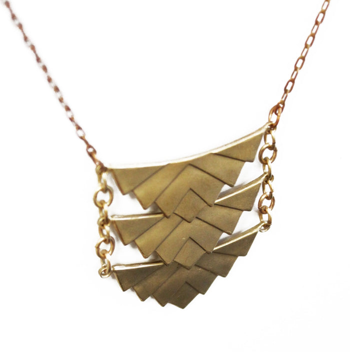 Scales Necklace - Brevado
