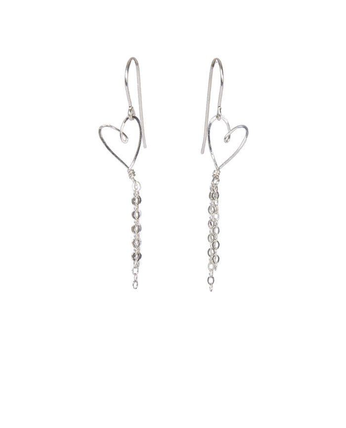 Tiny Heart Earrings - Brevado