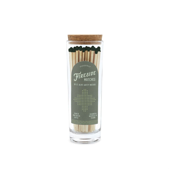Fireside Safety Matches - Green