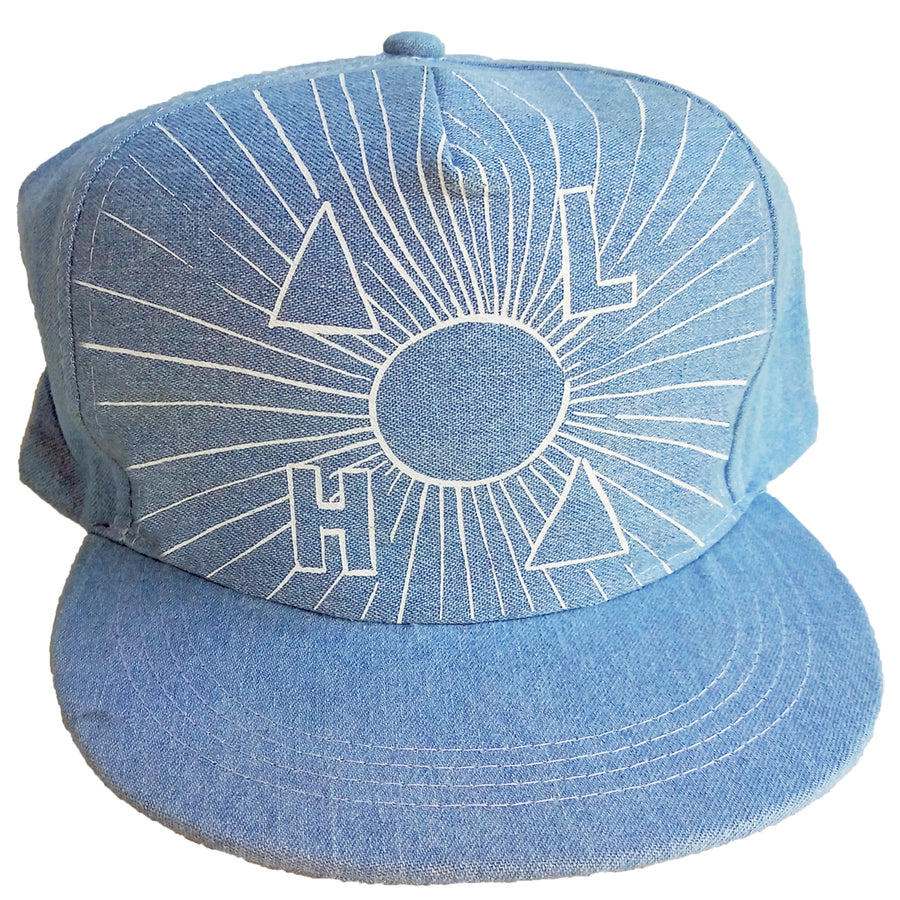 ALOHA SUN CAP ADULT - DENIM