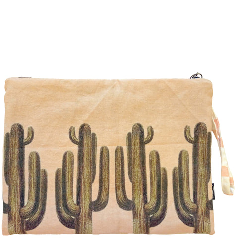 CACTI CLUTCH - PEACH