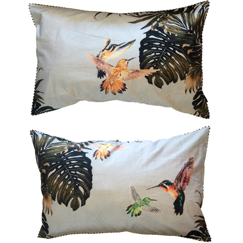 FLUTTERBY PILLOW SLIPS – SET OF TWO
