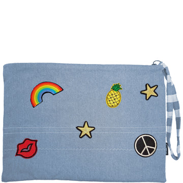 FUNDAYZ CLUTCH - DENIM