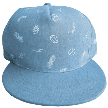 HAPPY DAYS CAP ADULT - DENIM