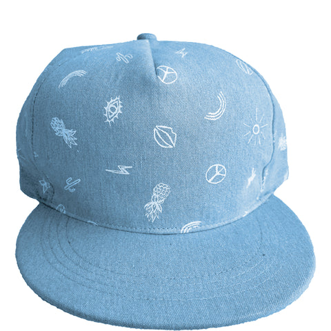 HAPPY DAYS CAP KIDS - DENIM