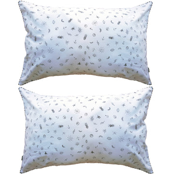 HAPPY DAYZ PILLOW SLIPS – SET OF TWO