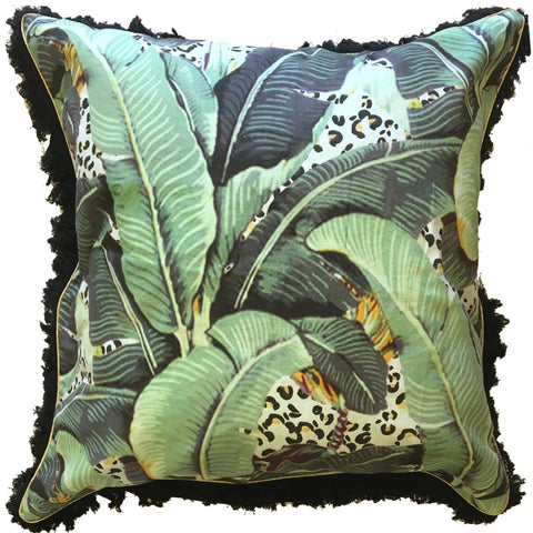 JUNGLE KITTY LARGE FLOOR CUSHION
