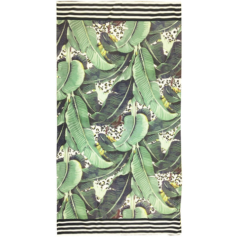 JUNGLE KITTY - LARGE TOWEL