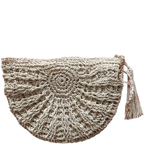 MONETA - NATURAL CLUTCH