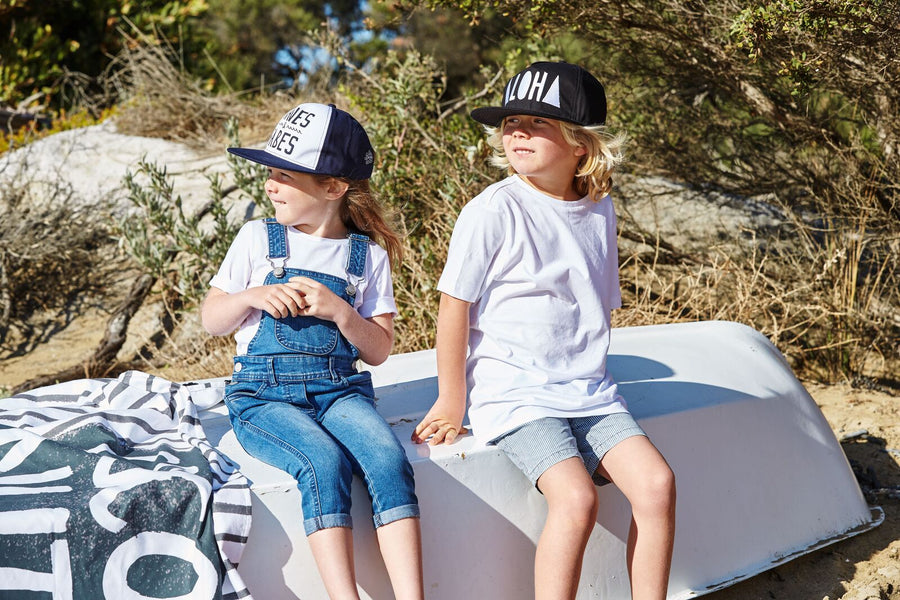 WAVES AND BABES CAP - KIDS