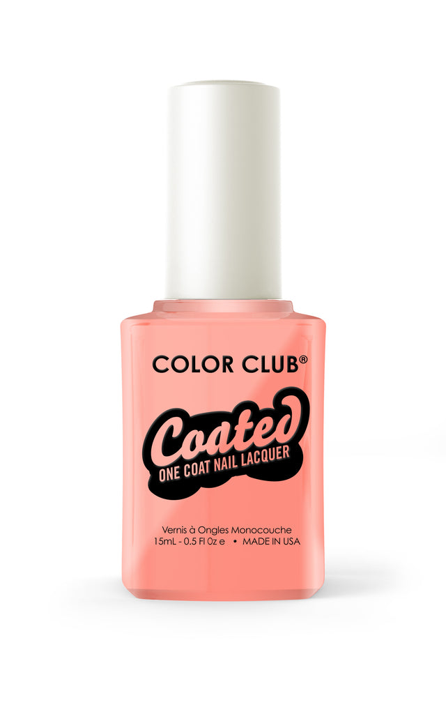 Color Club™ Coated East Austin One Coat Nail Lacquer - Gina Beauté