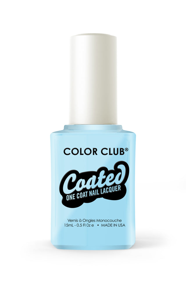 Color Club™ Coated Take Me To Your Chateau One Coat Nail Lacquer - Gina Beauté