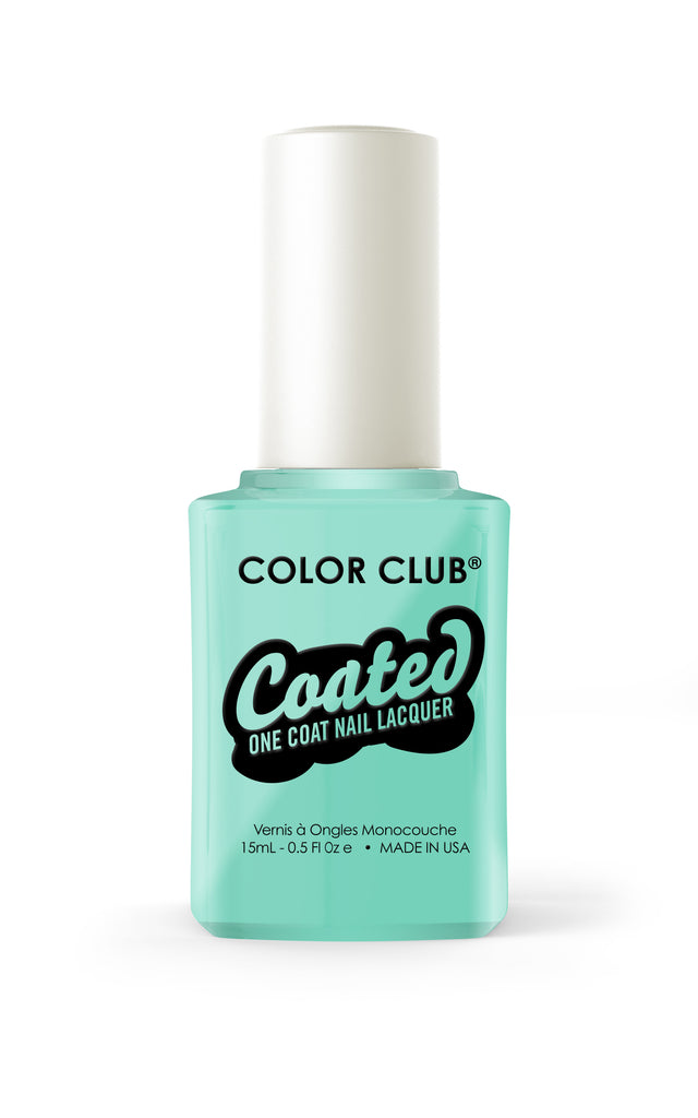 Color Club™ Coated Age Of Aquarius  One Coat Nail Lacquer - Gina Beauté