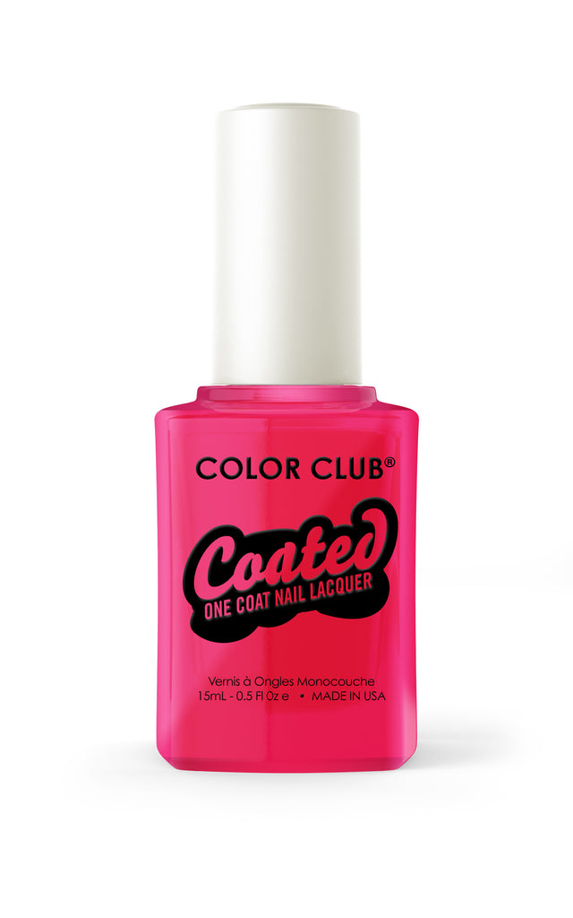 Color Club™ Coated Jachie Oh! One Coat Nail Lacquer - Gina Beauté