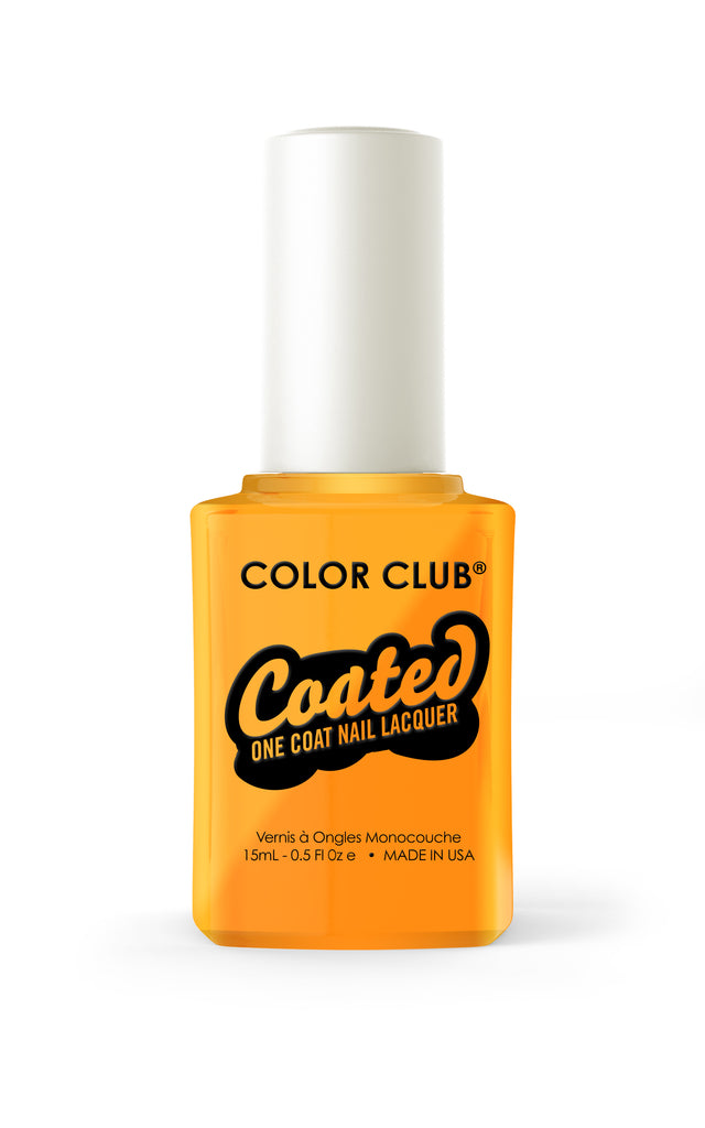 Color Club™ Coated Psychedelic Scene One Coat Nail Lacquer - Gina Beauté
