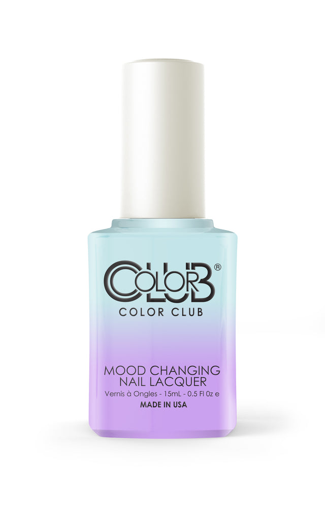 Color Club™ Blue Skies Ahead Mood Changing Nail Lacquer - Gina Beauté