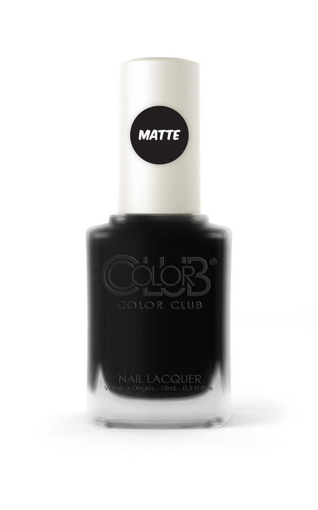 Color Club™ Chalk Board Black Nail Lacquer - Gina Beauté