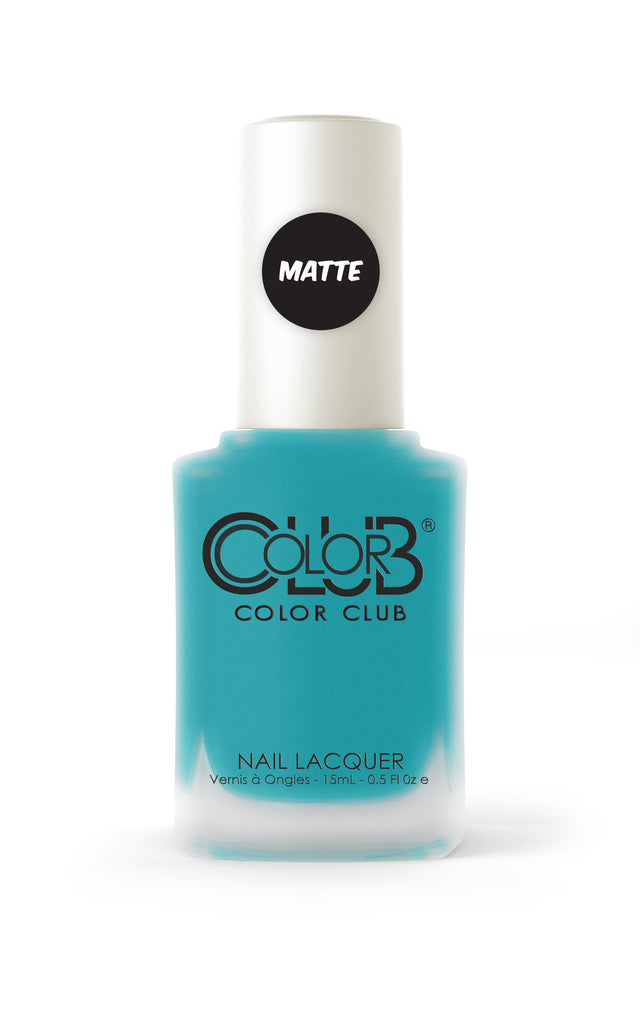 Color Club™ Party Teal Dawn Nail Lacquer - Gina Beauté